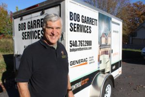 bob garrett electrician and provider of electrical contracting and generator installation services near roanoke virginia
